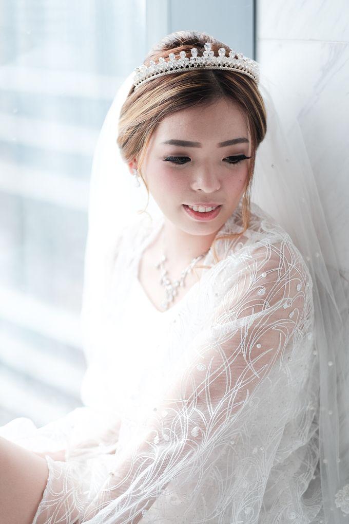 Wedding day of Shinta & Aldo by Michelle Bridal - 016