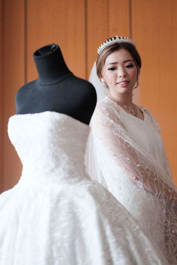 Wedding day of Shinta & Aldo by Michelle Bridal - 017
