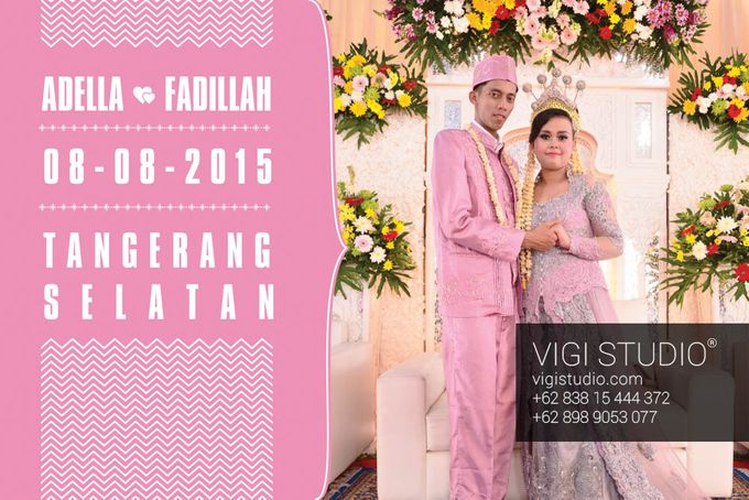 The Wedding Adella & Fadillah by VIGI STUDIO - 001