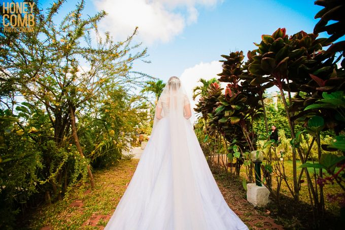 Garden Wedding in Tagaytay by Honeycomb PhotoCinema - 001