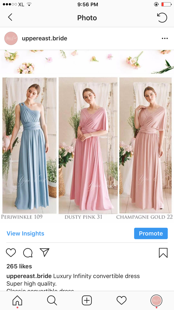 Infinity dress catalog by upper east bridesmaid - 001