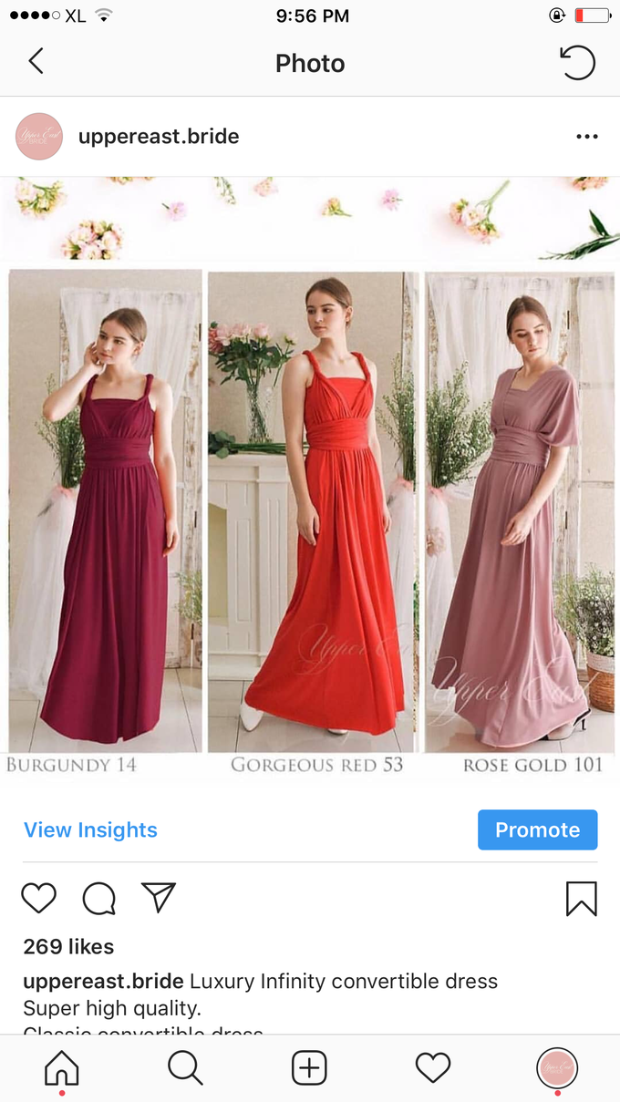 Infinity dress catalog by upper east bridesmaid - 003
