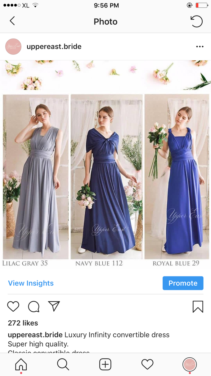 Infinity dress catalog by upper east bridesmaid - 002