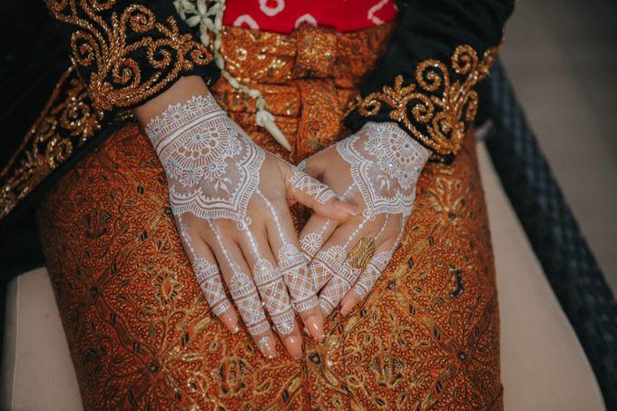 White henna for traditional javanese wedding by Nirvana Henna by Shinta - 003