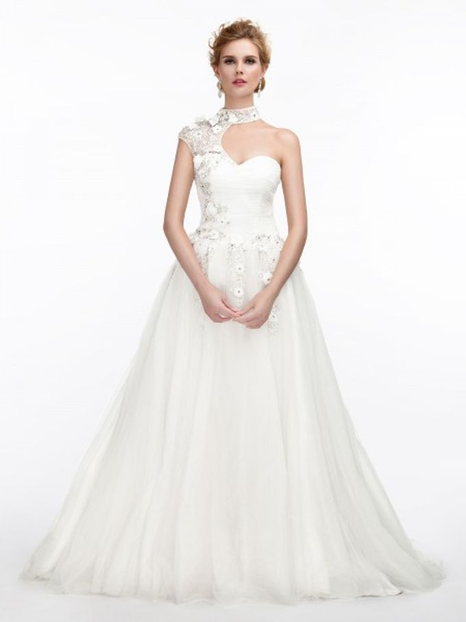 Brides Gown by AWEI Bridal - 010