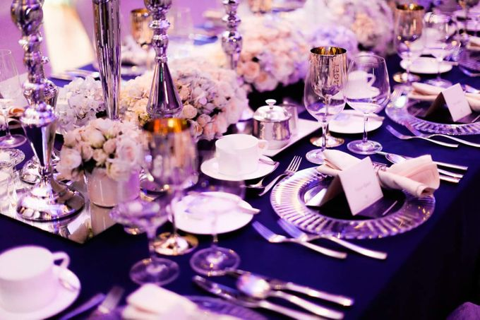 See You At Midnight. Navy Blue And Silver Romance. by Eye Candy Manila Event Styling Co. - 003