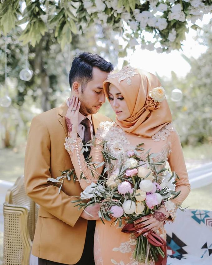 Khansa & Kiki Reception Day by UruliaYashinta Bride - 001
