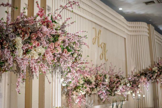 Hendrik & Andini Wedding Decoration by Valentine Wedding Decoration - 001
