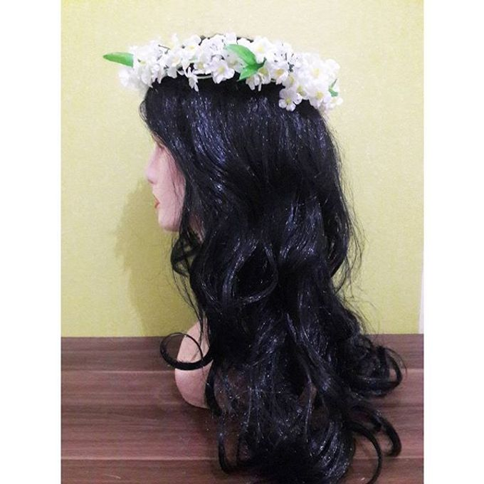 Flower Crown / Bando Bunga / Mahkota Bunga by Estrella Flower Crown - 024