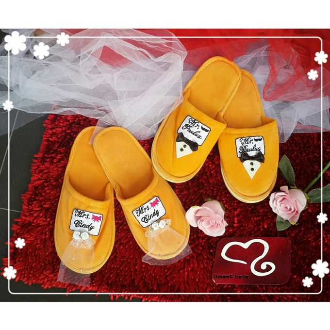 Wedding Slippers by Sweetlovecollection - 006