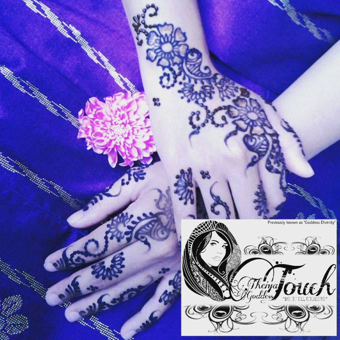 Henna Artwork Designing by Theiya Goddess Touch - 012