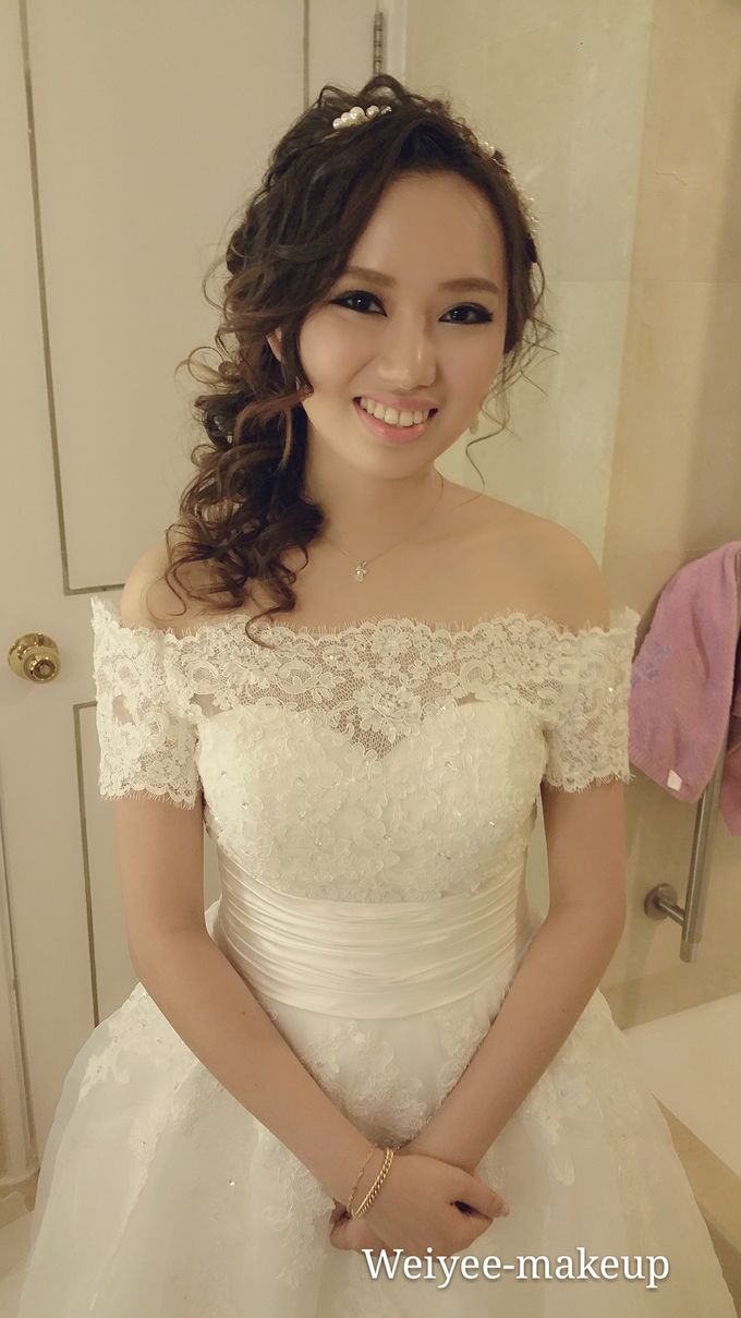 Bridal Makeup &hairstyling by Weiyee-makeup - 006