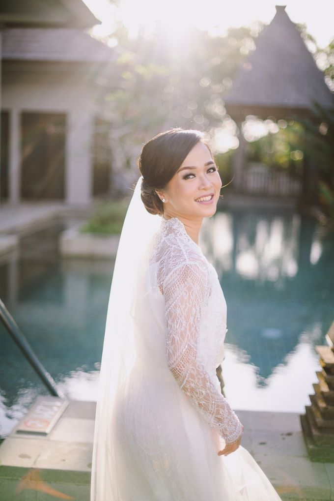 THE WEDDING OF ANDRES & REGINA - Morning Bridal Beauty Shoots by Gusde Photography - 001