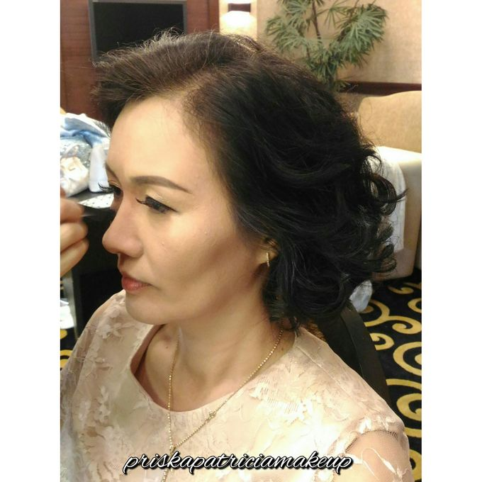 BRIDESMAIDS & FAMILY HAIRDO - ELSY by Priska Patricia Makeup - 006