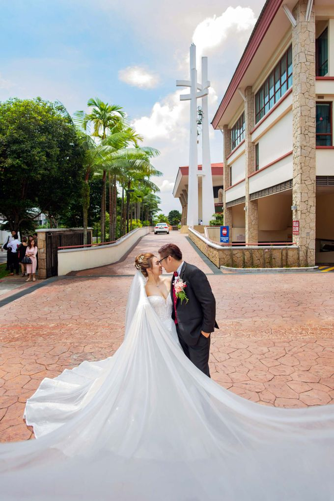 Wedding at Church of The Immaculate Heart of Mary Singapore by GrizzyPix Photography - 001