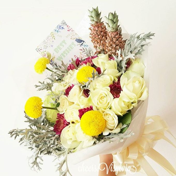 Gift Bouquet  by visylviaflorist - 029
