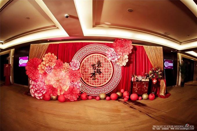 Oriental Wedding Decoration Theme by Wedding And You - 027