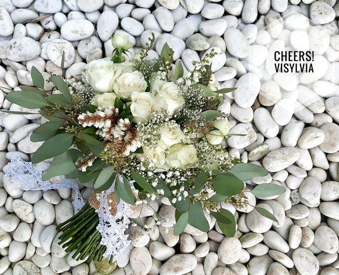 WEDDING BOUQUET  by visylviaflorist - 008