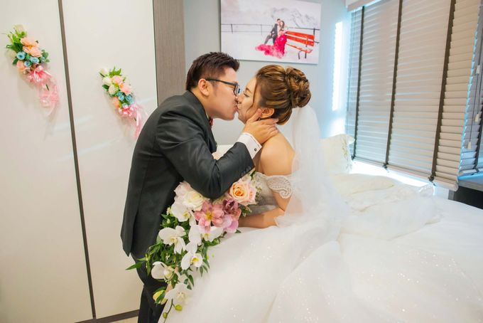 Wedding at Church of The Immaculate Heart of Mary Singapore by GrizzyPix Photography - 013