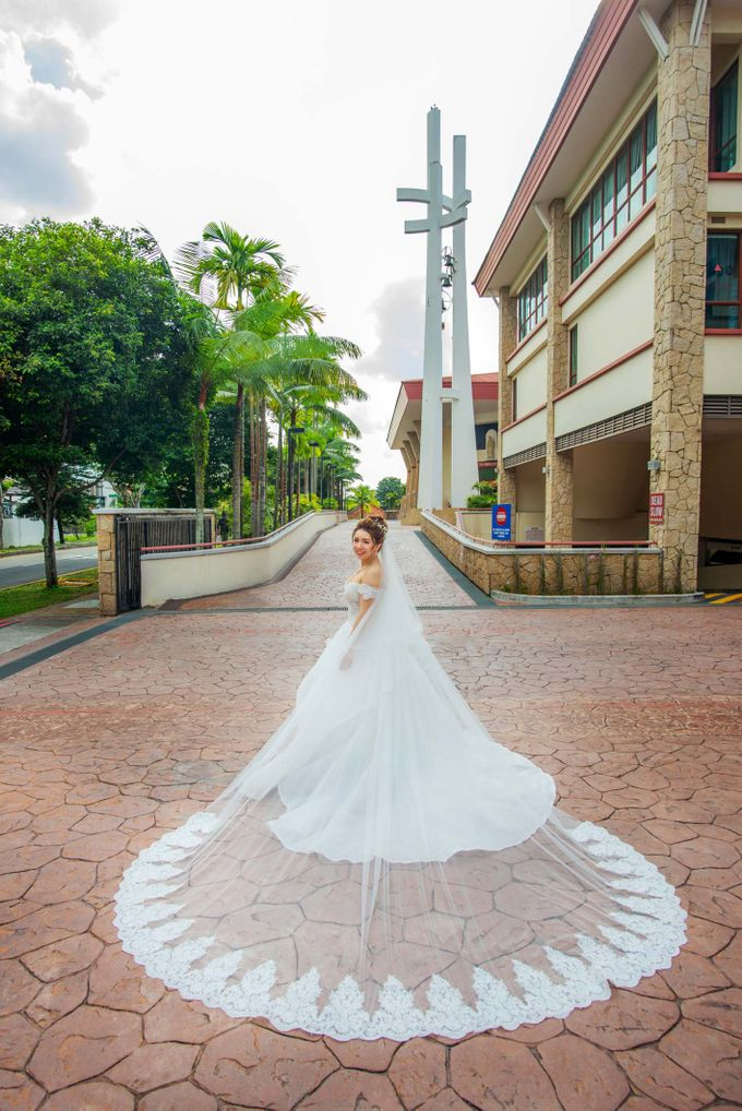 Wedding at Church of The Immaculate Heart of Mary Singapore by GrizzyPix Photography - 015