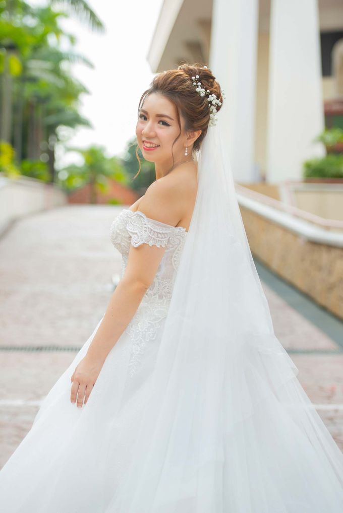 Wedding at Church of The Immaculate Heart of Mary Singapore by GrizzyPix Photography - 016