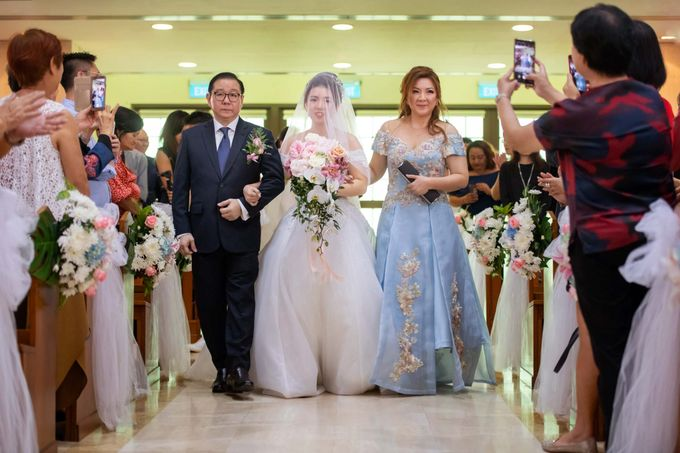 Wedding at Church of The Immaculate Heart of Mary Singapore by GrizzyPix Photography - 017