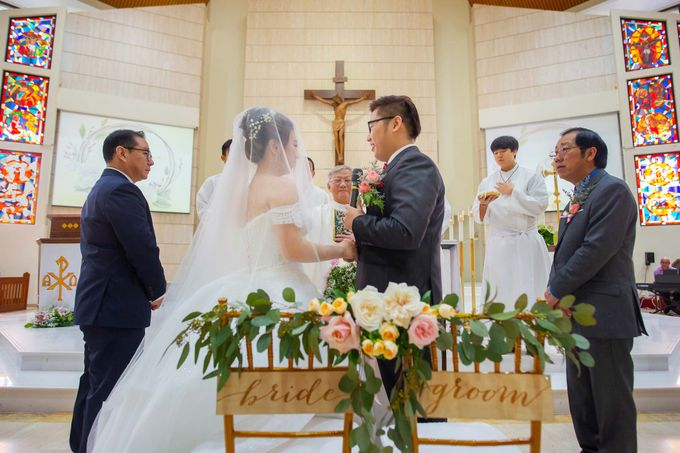 Wedding at Church of The Immaculate Heart of Mary Singapore by GrizzyPix Photography - 019