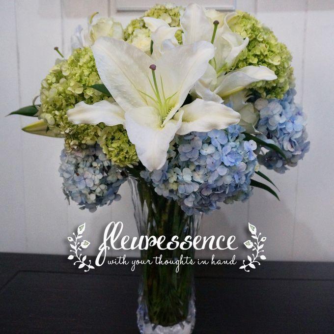 FLOWER BASKET AND VASE by Fleuressence - 006