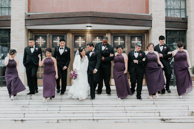 Trendy Winter Wedding by Amber Elaine Photography - 010