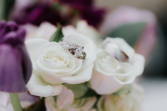 Trendy Winter Wedding by Amber Elaine Photography - 022