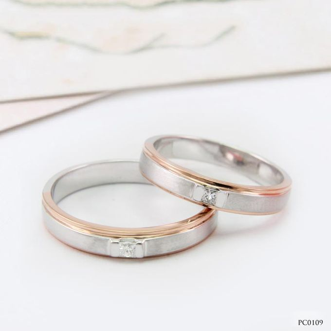 Wedding Ring WR0056 by V&Co Jewellery - 001