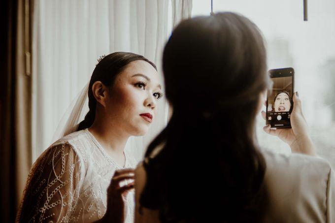 Vania & Kennan Wedding at Sampoerna Strategic by AKSA Creative - 041