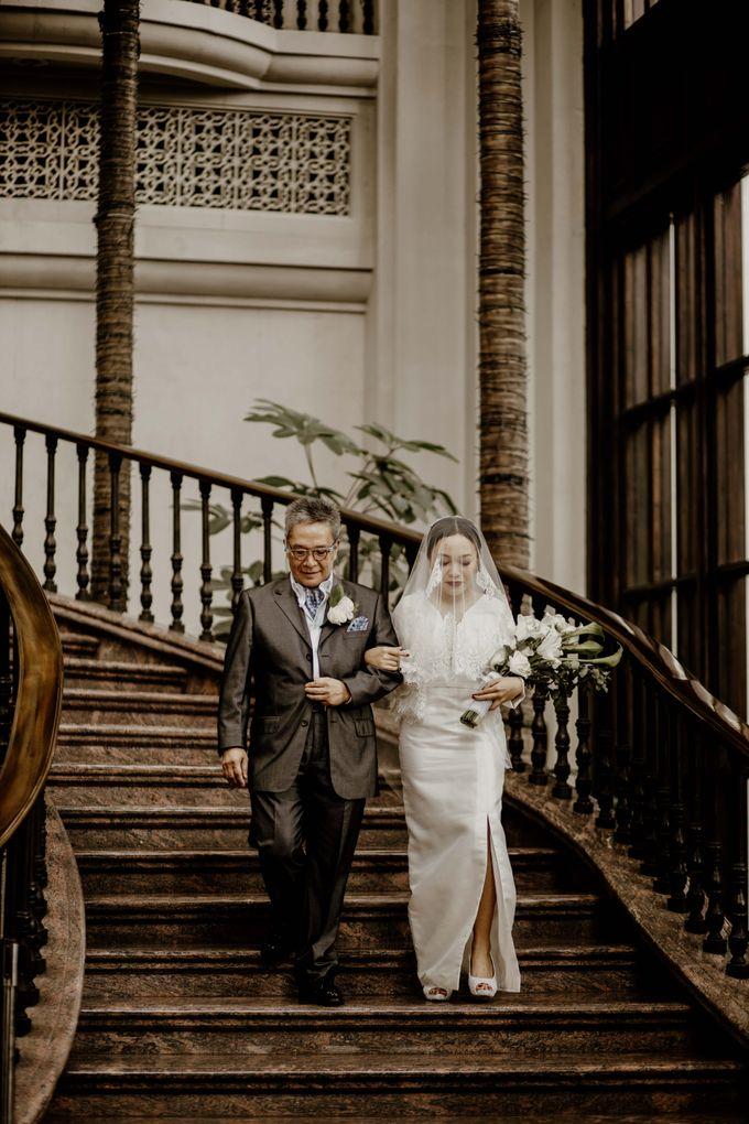 Vania & Kennan Wedding at Sampoerna Strategic by AKSA Creative - 026
