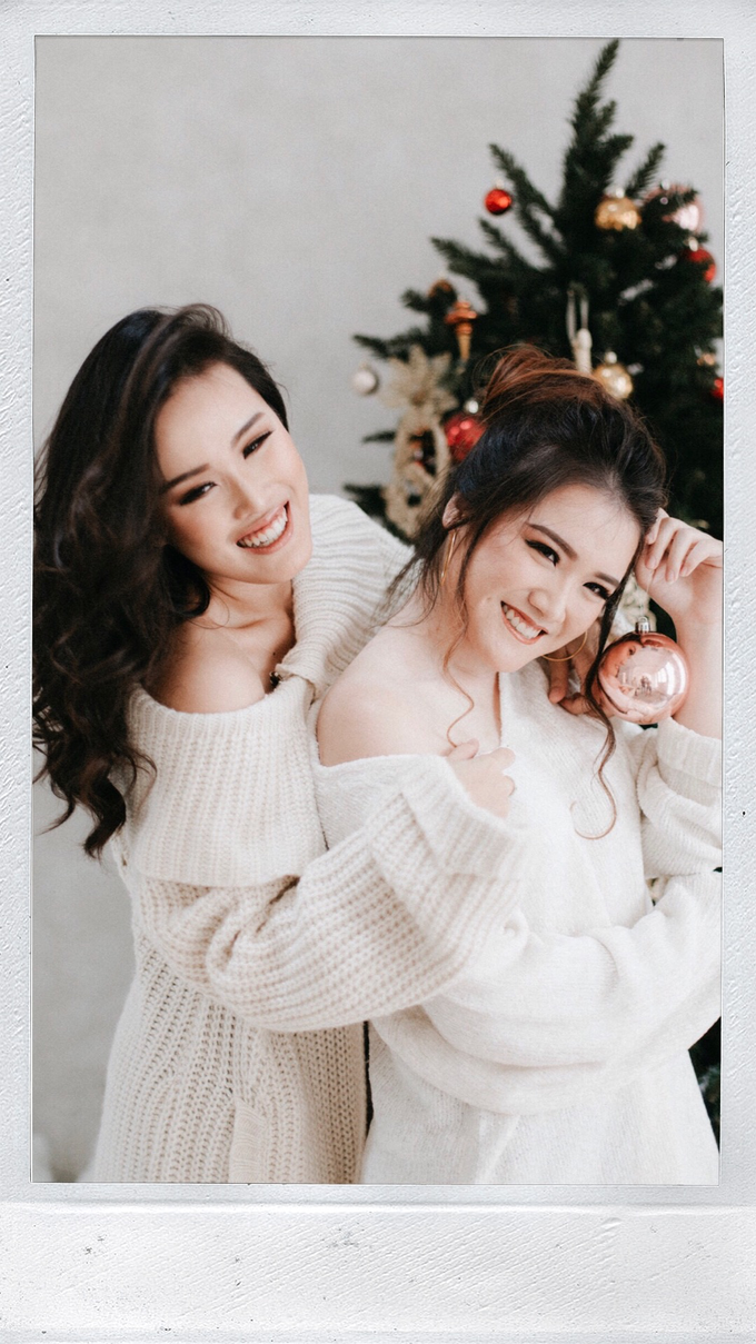 Ms. Levina & Ms. Sheila Christmas Photoshoot by Vania Prasetya MUA - 007