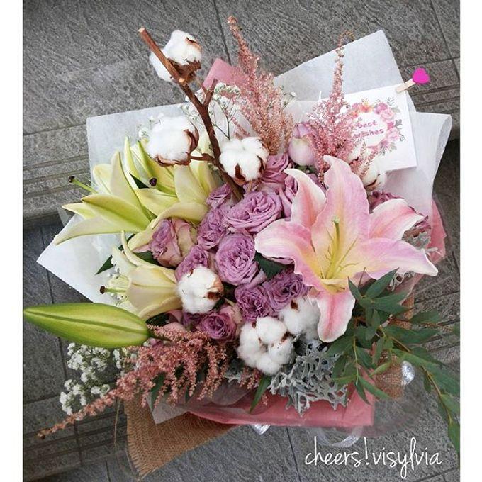Gift Bouquet  by visylviaflorist - 035