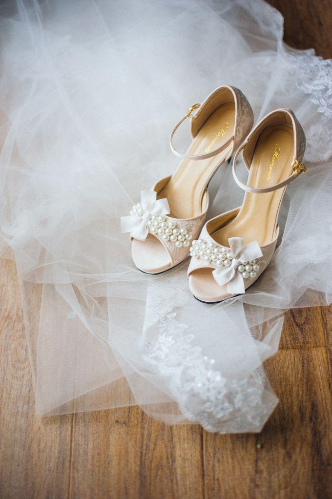 Bride : Vivian Yap by Moments Shoe - 002