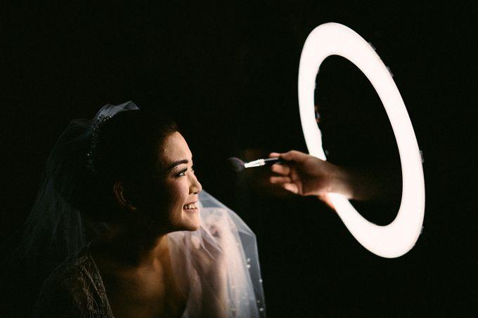 Anton & Cynthia Wedding Day by Mimi kwok makeup artist - 001
