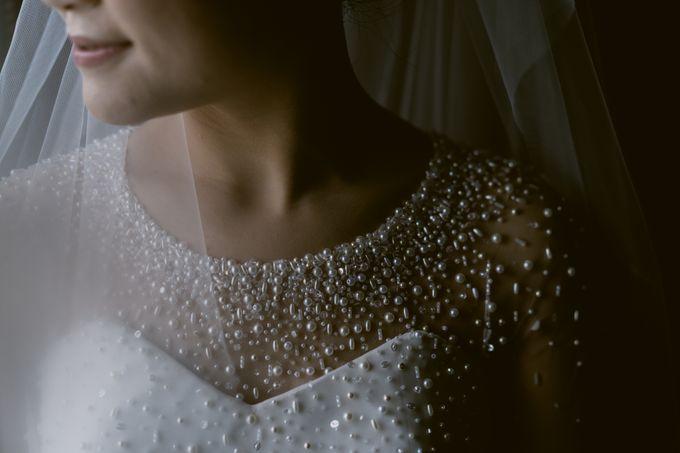 Anton & Cynthia Wedding Day by Mimi kwok makeup artist - 004