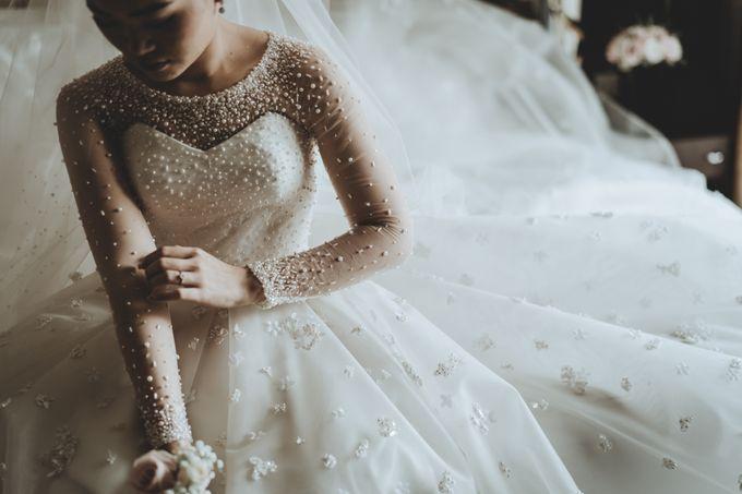 Anton & Cynthia Wedding Day by Mimi kwok makeup artist - 009