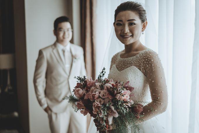 Anton & Cynthia Wedding Day by Mimi kwok makeup artist - 018