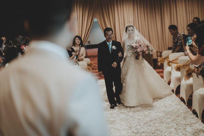 Anton & Cynthia Wedding Day by Mimi kwok makeup artist - 019
