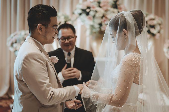 Anton & Cynthia Wedding Day by Mimi kwok makeup artist - 020