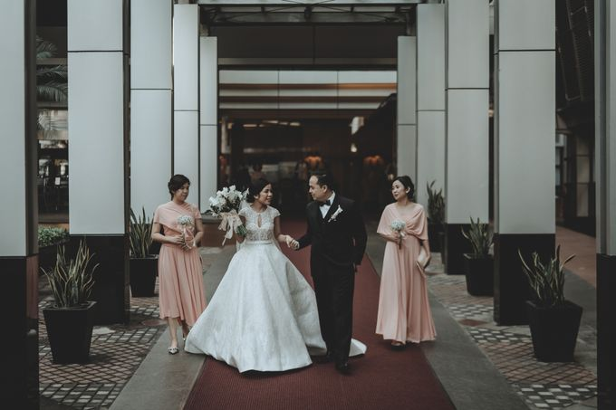 Jeremy & Alicia Wedding by Imelda Hudiyono Bride - 004