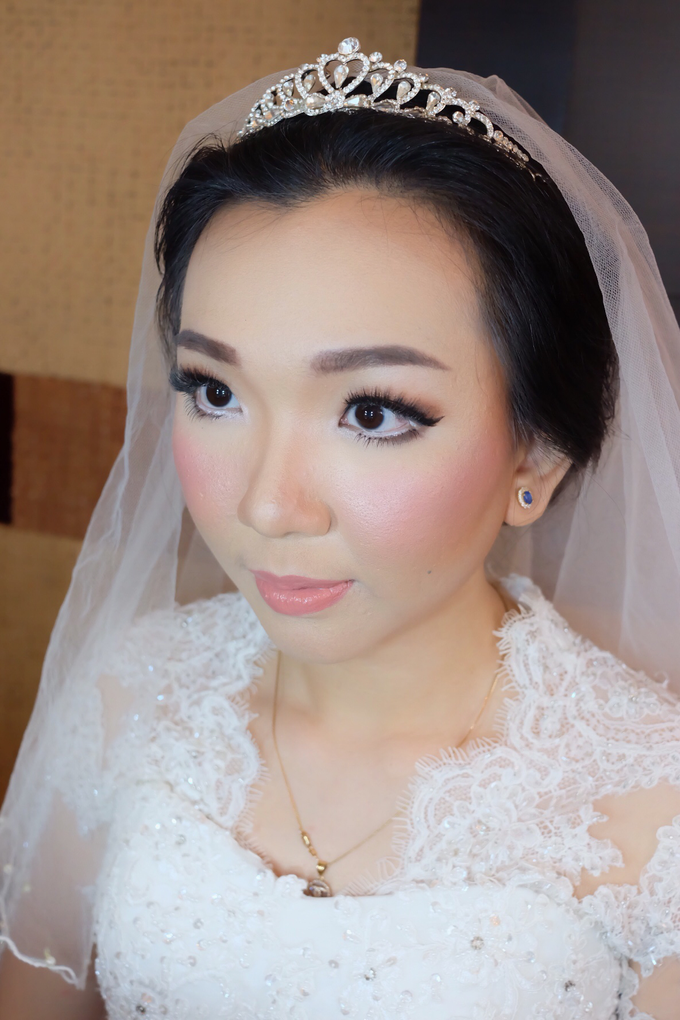 Wedding Angelia by Verena Makeup Artist - 002