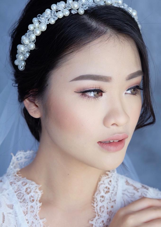 Bride Ms Evelyn by Verena Makeup Artist - 004