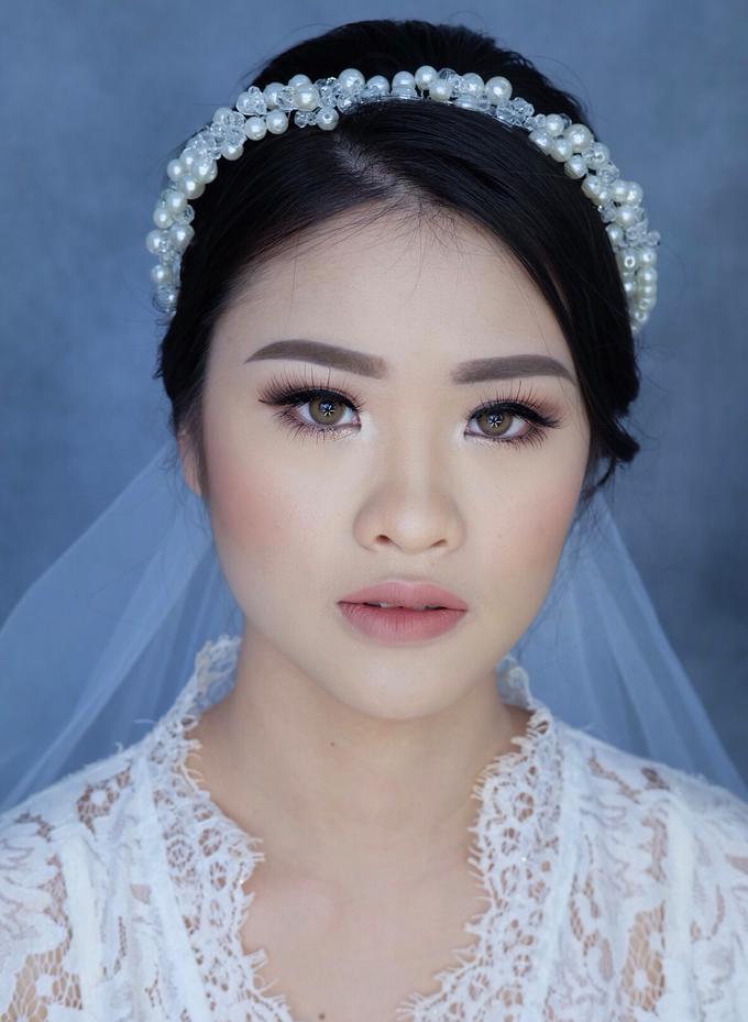 Bride Ms Evelyn by Verena Makeup Artist - 002