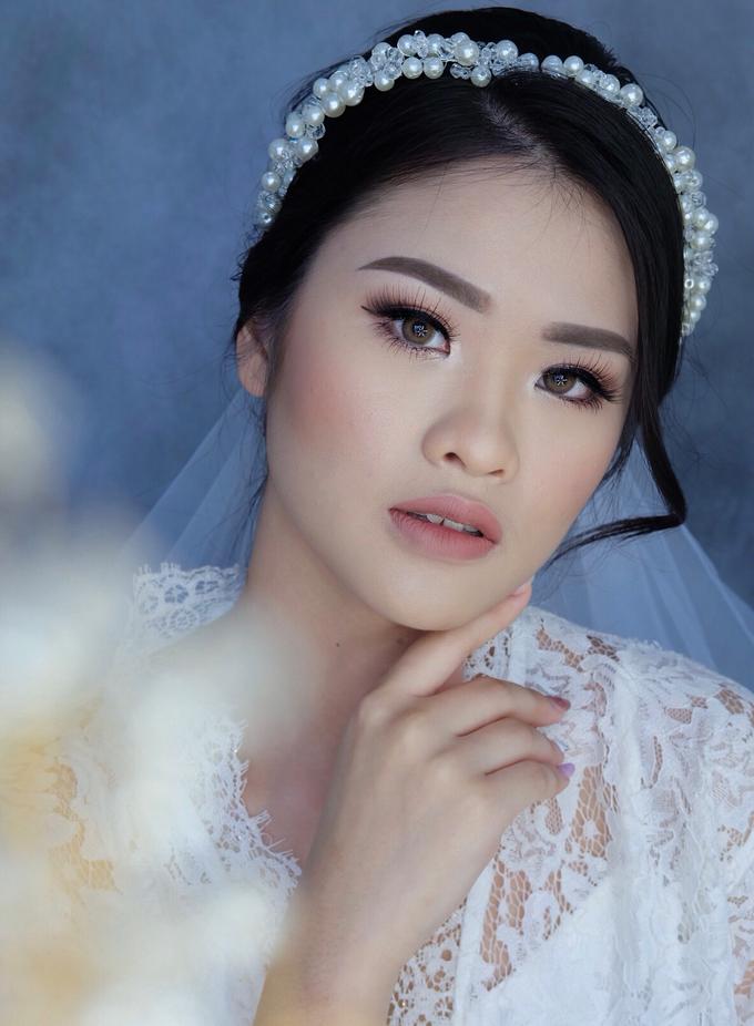Bride Ms Evelyn by Verena Makeup Artist - 001