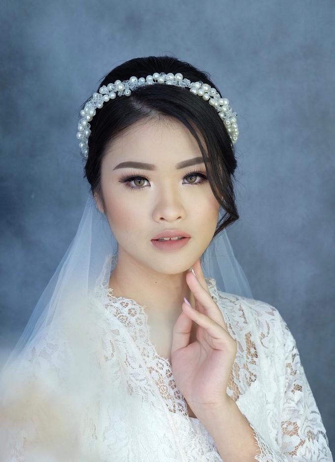 Bride Ms Evelyn by Verena Makeup Artist - 007