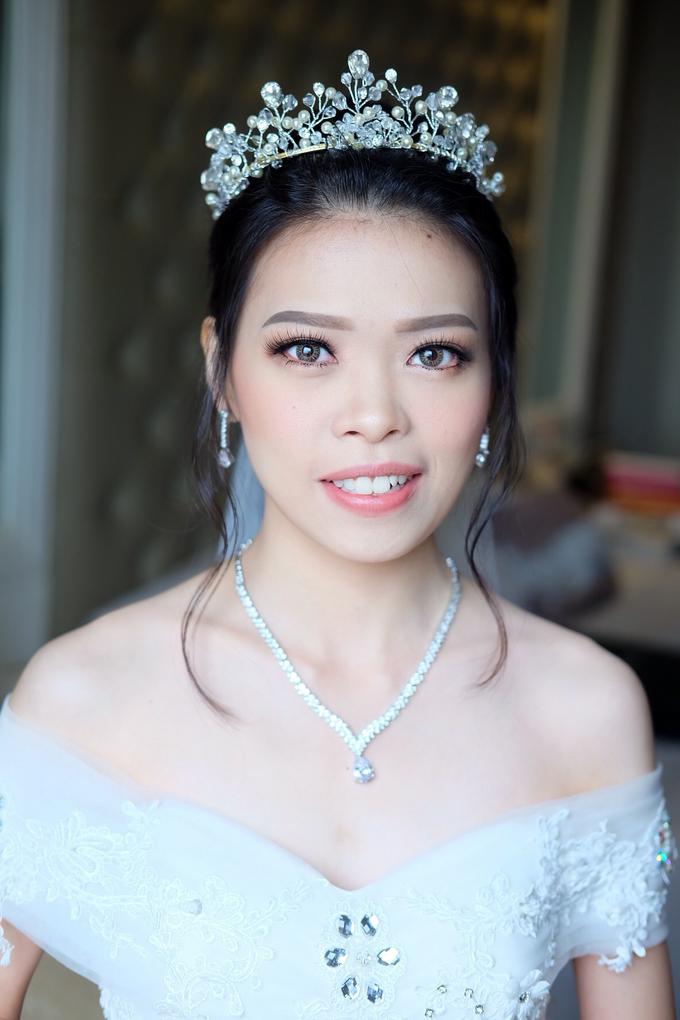 Bride Ms Erica by Verena Makeup Artist - 001