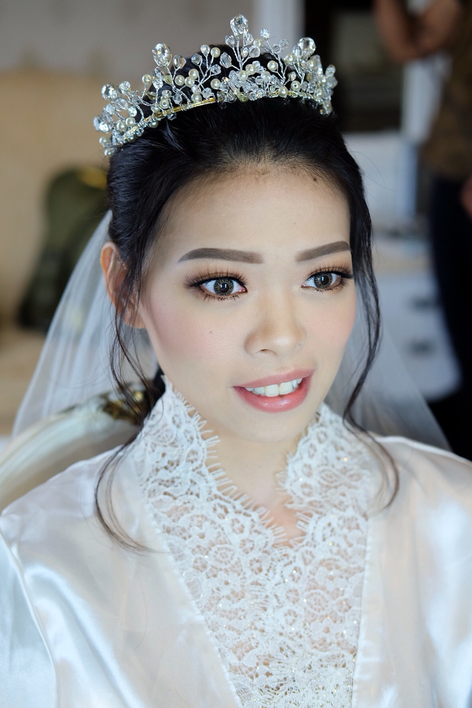 Bride Ms Erica by Verena Makeup Artist - 002
